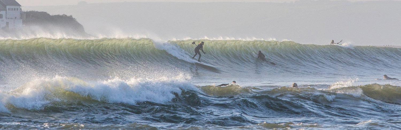 big surf wave