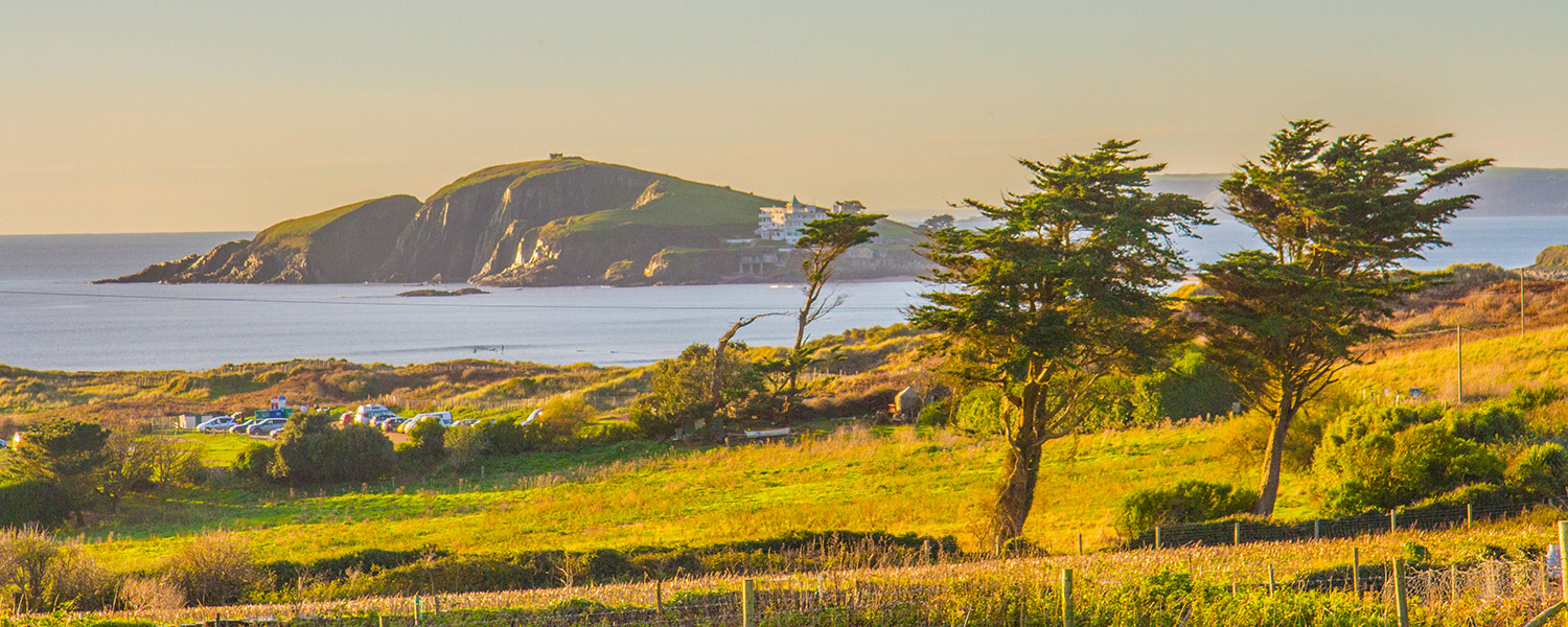 View of Burgh Island from Sloopside